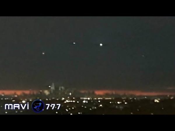 Sensational Multiple Ufos stands above the City New York February 25 2019