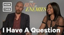 Taraji P Henson and Sam Rockwell on 'The Best of Enemies' NowThis