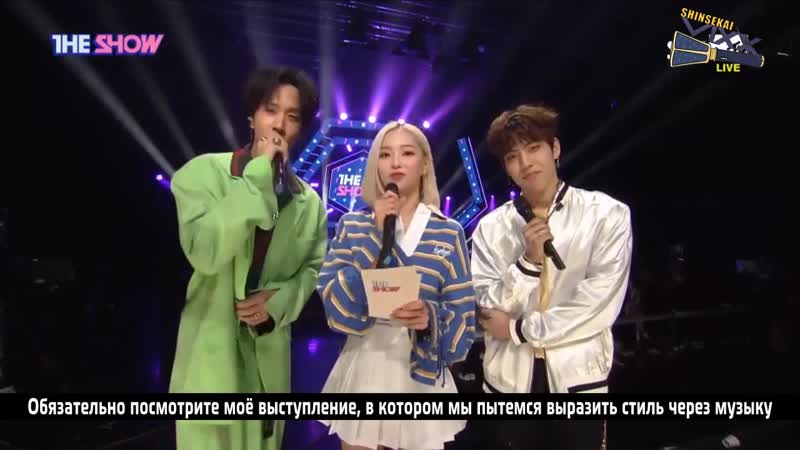 [RUS SUB] 190312 VIXX RAVI and Infinite Dongwoo THE SHOW Interview