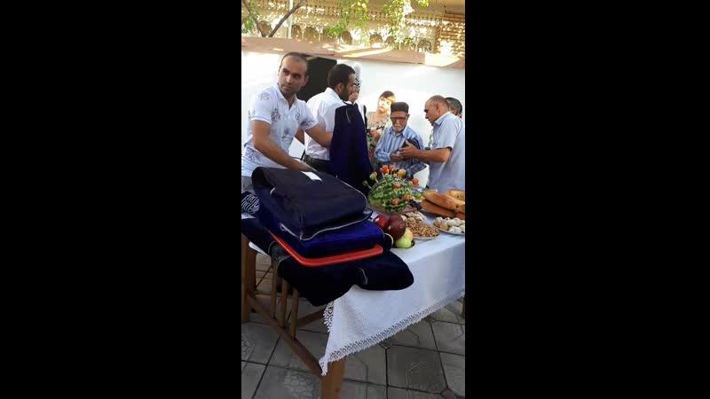 кингош, один из дней свадьбы брата мужа, и праздник нашего сына в честь обрезания