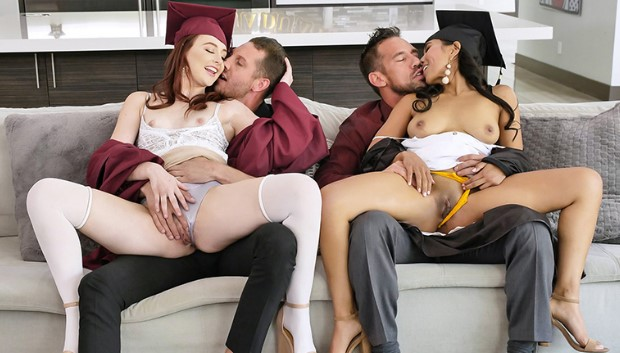 TeamSkeet - Graduation Daughter Bangers