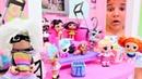 Sema nın oteline LOL oyuncaklar geliyor Kız oyunları