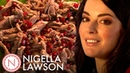 Nigella Lawson's Shredded Lamb Salad With Mint and Pomegranate Nigella Bites