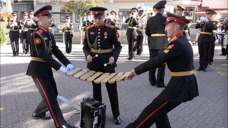 Suworow Kadetten in Andermatt 24.09.2018 - Суворовские курсанты в Андерматте (Швейцария)
