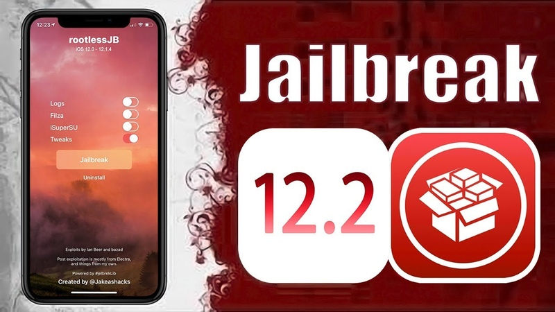 IOS 12.3 - 12.2 - 12.1.4 Rootless v3.3 w Cydia! Jailbreak Fully Works A12