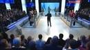 Укро-дебил Андрей Окара получил по лицу в прямом эфире российского телевидения. Специальный корреспондент