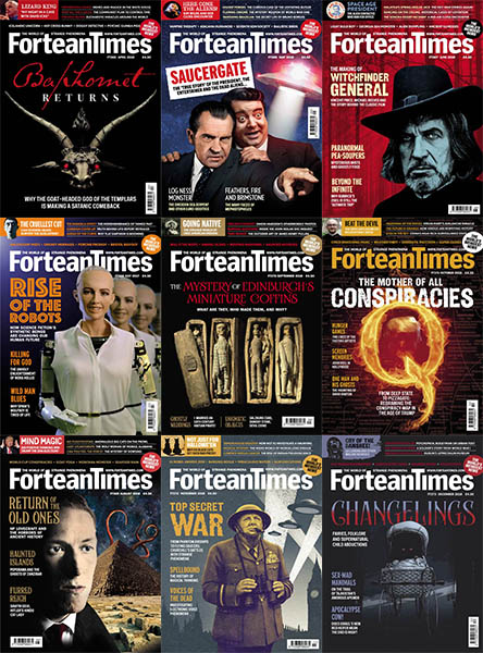 Fortean Times - 2018 Full Year Collection