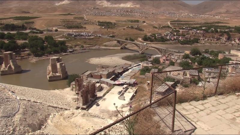 Последние дни Хасанкейфа власти затопят древний город в Турции