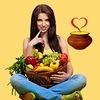 """Вегетарианские рецепты """"Приготовим с любовью!"""""""