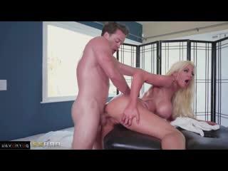 Nicolette shea & kyle mason [ massage &  big boobs / deep blowjob , cum on face , shaved , riding dick , boobs , milkings]