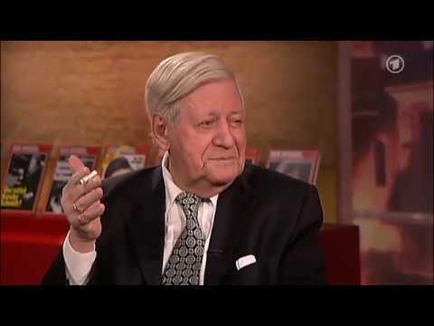 Helmut Schmidt zur muslimischen Einwanderung Kulturen passen nicht zusammen