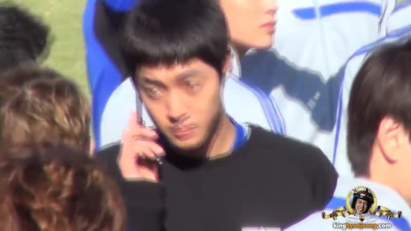 2013.10.03 KIM HYUN JOONG fancam - 2013 ASIA YOUTH FOOTBALL FESTIVAL