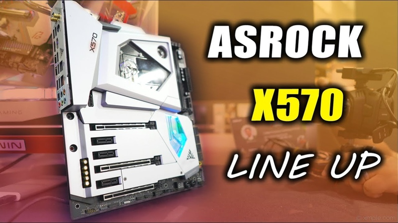 X570 ASRock Motherboards - There are 10 of them Coming!