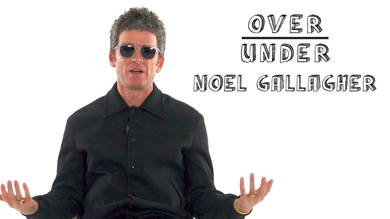 Noel Gallagher Rates Kanye West Mustaches and Ed Sheeran Over Under