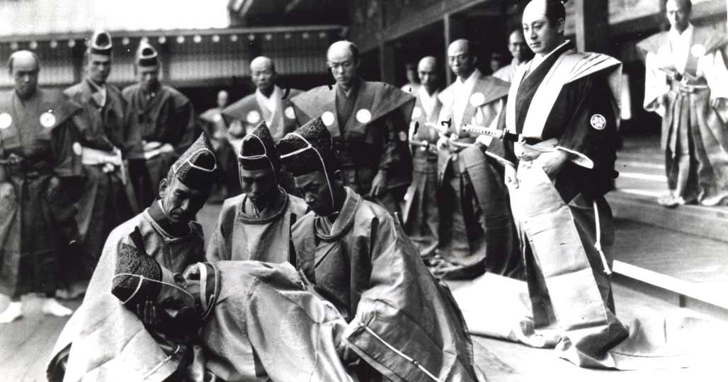 Ритуальная смерть самурая