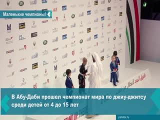 Пятилетние новосибирцы стали чемпионами мира по джиу-джитсу в Абу-Даби