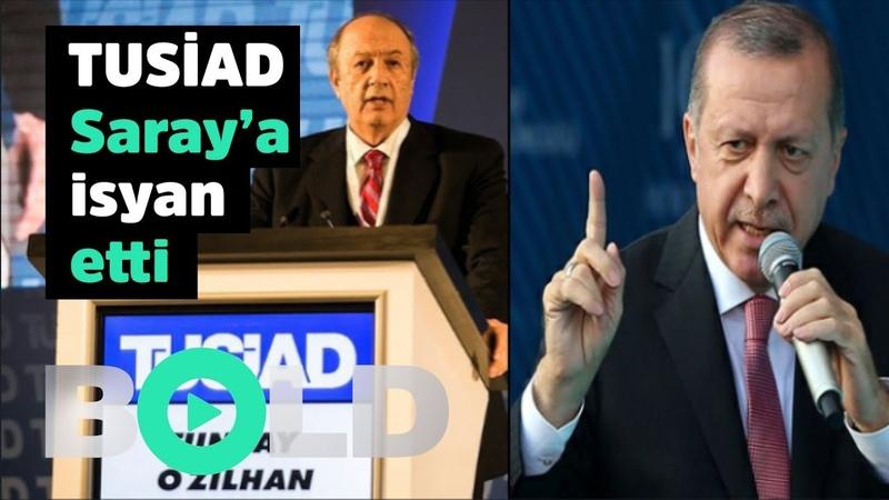 TUSİAD Tayyip Erdoğana başkaldırdı   Patronlardan Ekrem İmamoğluna destek açıklaması