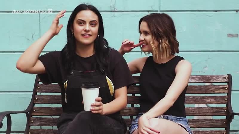 Каст фильма Идеальное свидание для портала AwesomenessTV 2019