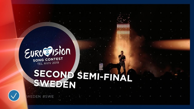 John Lundvik - Too Late For Love - Sweden - LIVE - Second Semi-Final - Eurovision 2019