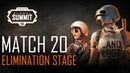 FACEIT Global Summit - Day 4 - Elimination Stage - Match 20 (PUBG Classic)