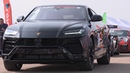 650hp Lamborghini Urus vs 550 hp New Porsche Cayenne Turbo. Unlim 500 highlights.