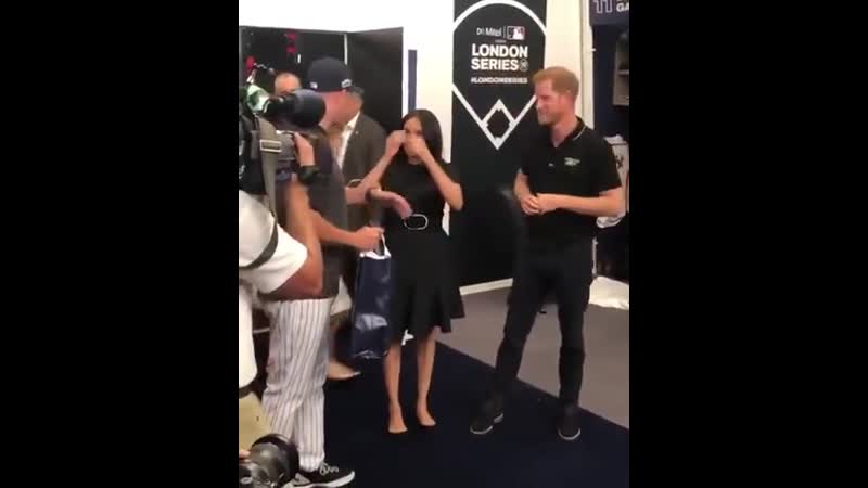 Meeting the Yankees in their clubhouses