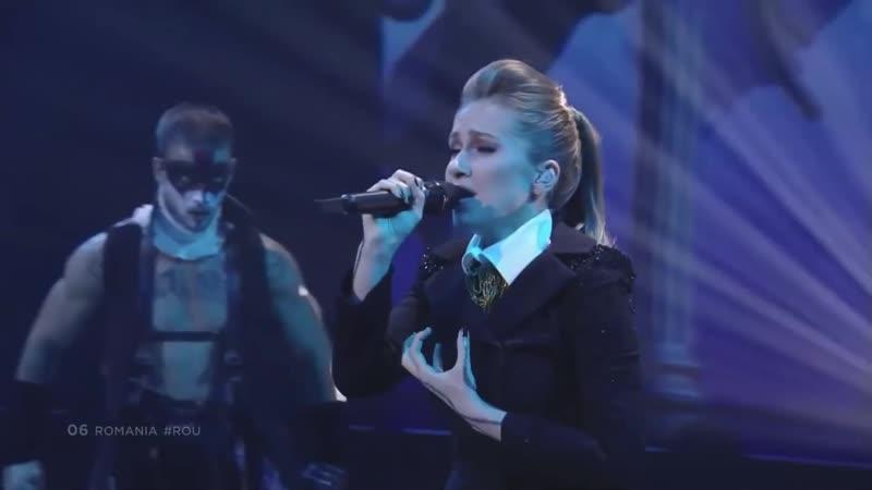 Ester Peony On a Sunday Eurovision 2019 Румыния второй полуфинал