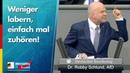 Beim Antrag der Linken zur PKV platzt Robby Schlund der Kragen AfD Fraktion im Bundestag
