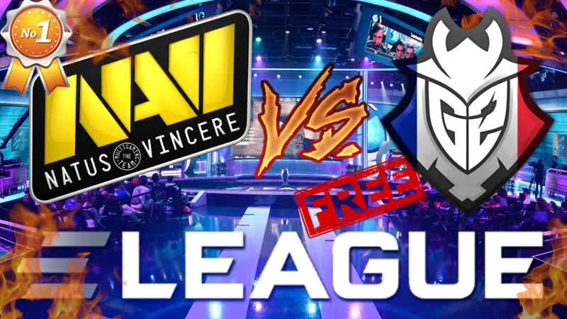 [RU] NAVI vs G2 1080р CS - ESL Pro League Season 9 SiMPL Трансляция стрим