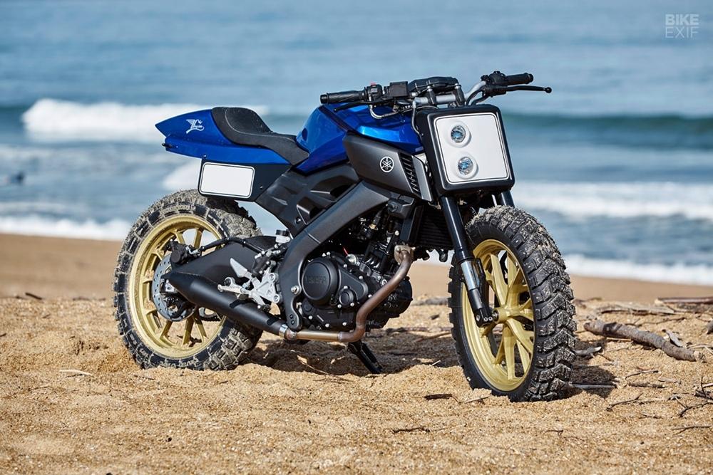 Kingstone Customs: трекер Yamaha MT-125