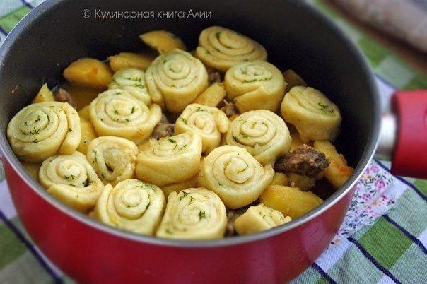 Нудли по-украински. Оригинальное блюдо на обед!