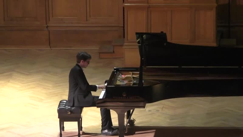 Бис Скарлатти К 208 Ля мажор Люка Дебарг фортепиано Франция