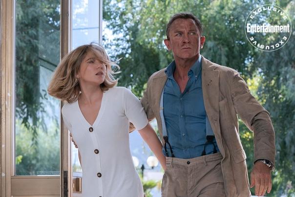 Крэйг, Райт, Сейду и другие на свежих кадрах из шпионского боевика «007: Не время умирать»