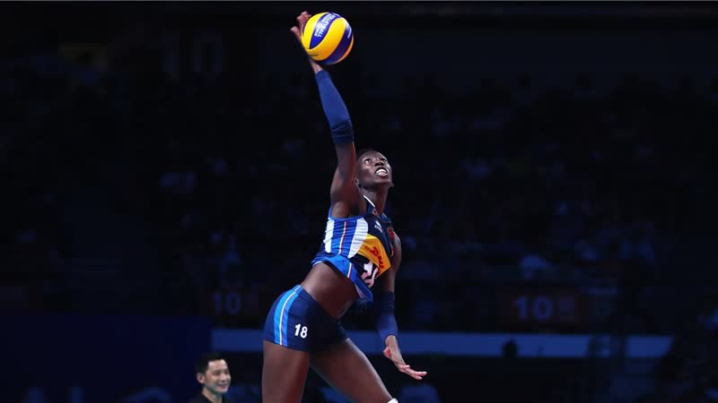 38 Points Paola Egonu vs China Fina Round Womens VNL 2019