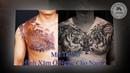 Hình Xăm Ở Ngực Cho Nam 2 Mít Tattoo