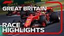 2019 British Grand Prix Race Highlights