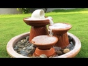 DIY | How to make amzaing Fountain using clay saucers Pots