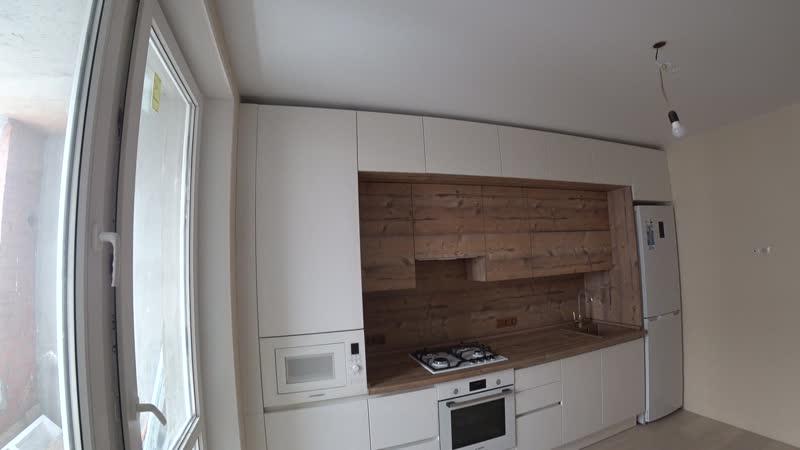 Кухня с фасадами Soft Touch
