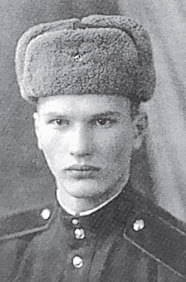 Г. Зайцев во время срочной службы. Фото: Из личного архива