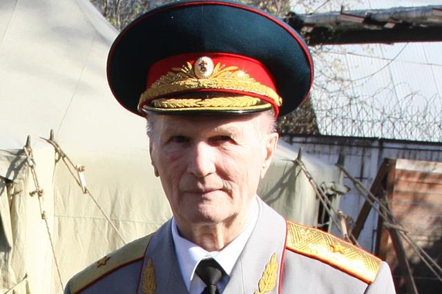 Генерал-майор Геннадий Зайцев