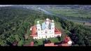 Kraków Klasztor na Bielanach z lotu ptaka