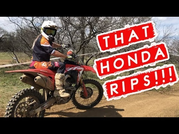 Did my first XC race in two years ON A HONDA