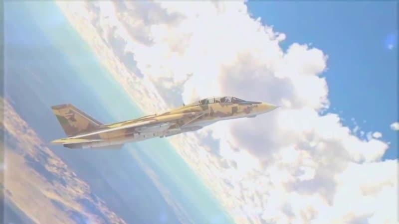 Модернизированный F-14A Tomcat ВВС Ирана