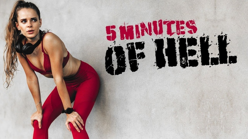 BRUTAL Advanced HIIT Cardio Workout (5 MINUTES OF HELL)