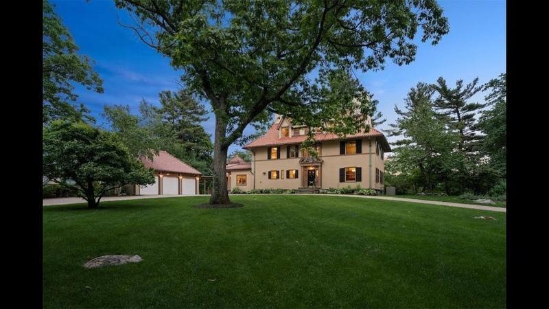 Grand Mediterranean-Inspired Home in Newton, Massachusetts | Sotheby's International Realty