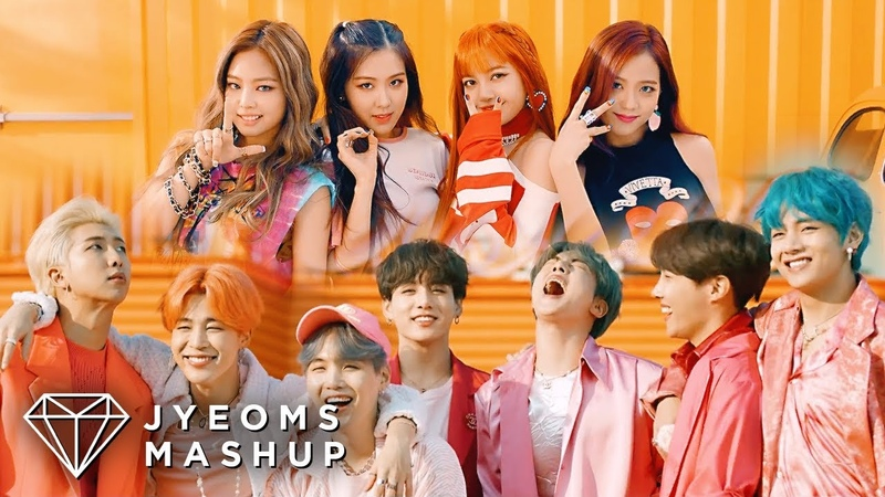 BTS BLACKPINK BOY WITH LUV X AS IF IT'S YOUR LAST MASHUP feat HALSEY