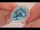 Top Quality London Blue Topaz Ring from $2 Million Dollar Jewelry Collection