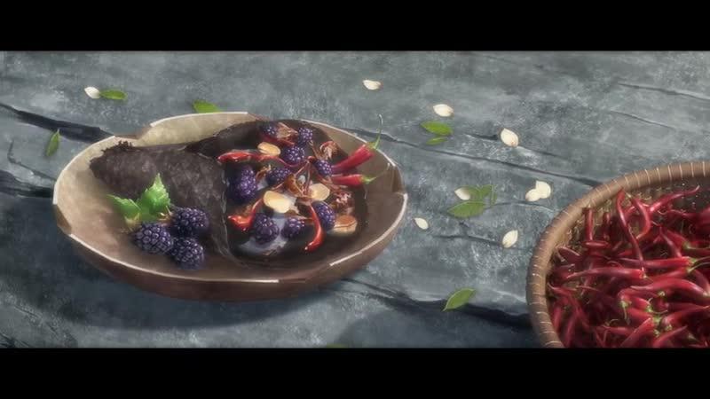 Mo Dao Zu Shi《魔道祖师》- реклама мороженого Кавайдо старейшины Илина