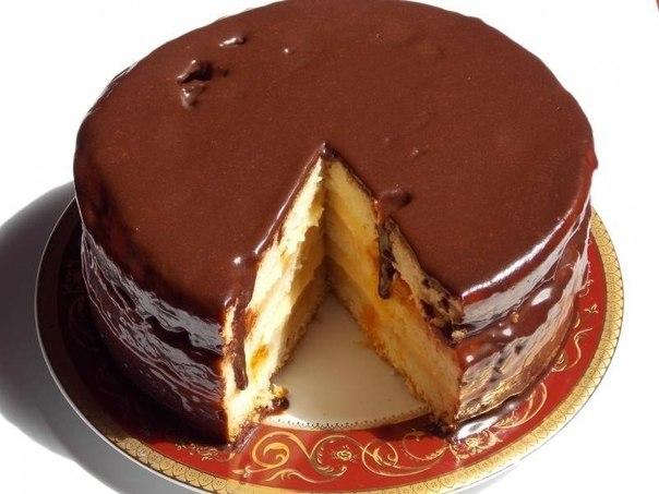 Торт Чародейка. Один из моих любимых!