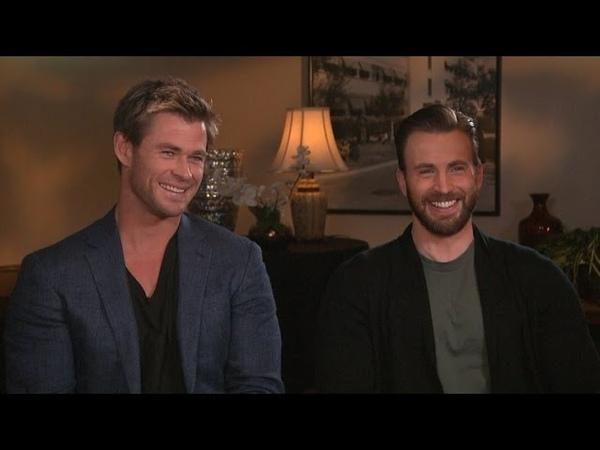 'Avengers: Age of Ultron' Stars Chris Evans and Chris Hemsworth Take the 'Chris vs. Chris' Quiz!